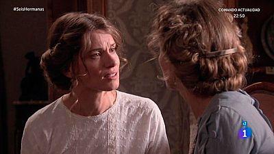 """Seis Hermanas - Diana, a Blanca: """"¿Qué es más importante para ti, tus hermanas o las apariencias?"""""""