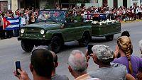Muere Fidel Castro - Los restos de Fidel continúan su viaje por la isla