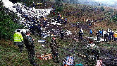 Los investigadores del accidente aéreo en Colombia confirman que el avión estaba sin combustible