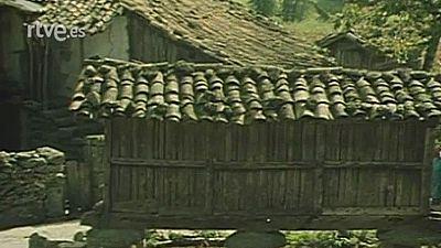 Arte y tradiciones populares - Arquitectura popular en Galicia - Las sierras: La teja