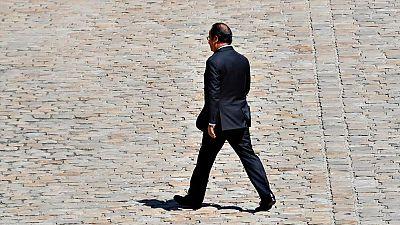 El presidente de Francia, François Hollande, no se presentará a la reelección