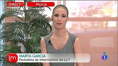 Marta García lucha contra el cáncer en televisión