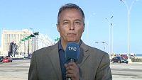 """El enviado de RTVE a Cuba Vicenç San Clemente ha estado retenido  durante dos horas en una comisaría de La Habana, tras entrevistar al  periodista Reinaldo Escobar, por """"posible alteración del orden público""""."""