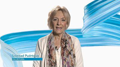 La escritoria Soledad Puértolas felicita a TVE en su 60º aniversario