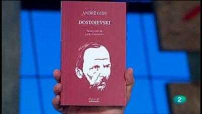 La Aventura del Saber. TVE. Sección 'Libros recomendados'. 'Dostoievski: Artículos y charlas' de André Gide