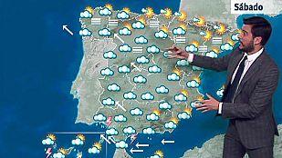 Lluvias fuertes en el suroeste y Canarias
