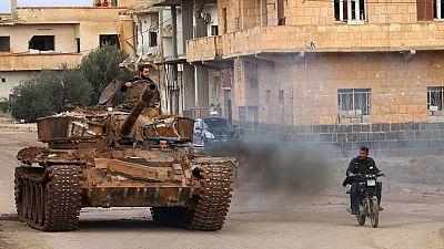 El ejército sirio recupera parte rebelde de Alepo