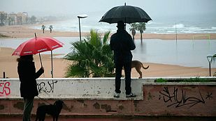 Lluvias fuertes en el suroeste y en Canarias