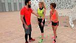 Nacidos para correr - Huecco y Adriana Abenia