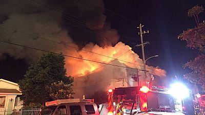 Al menos nueve muertos en un incendio en Oakland, California