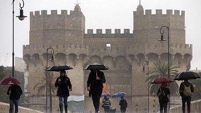 Valencia, en aviso amarillo por precipitaciones