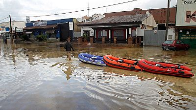 Los daños tras el peor temporal en Andalucía de los últimos 25 años