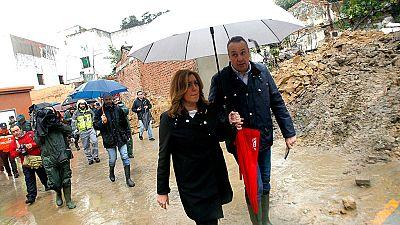 El Gobierno aprobará ayudas para las zonas afectadas por el temporal en Andalucía