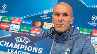 "Zidane: ""No vamos a calcular, vamos a intentar quedar primeros"""