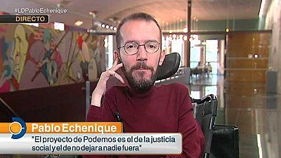 Los desayunos de TVE - Pablo Echenique - ver ahora