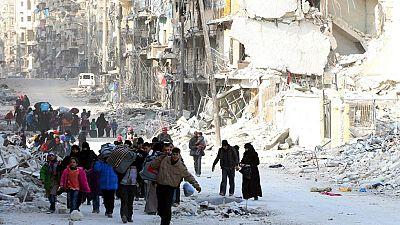 En Siria, después de tres semanas de asedio las tropas de Al Asad controlan la Ciudad Vieja de Alepo