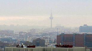 Bancos de niebla en el interior e inestabilidad en área mediterránea