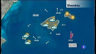 El temps a les Illes Balears - 09/12/16