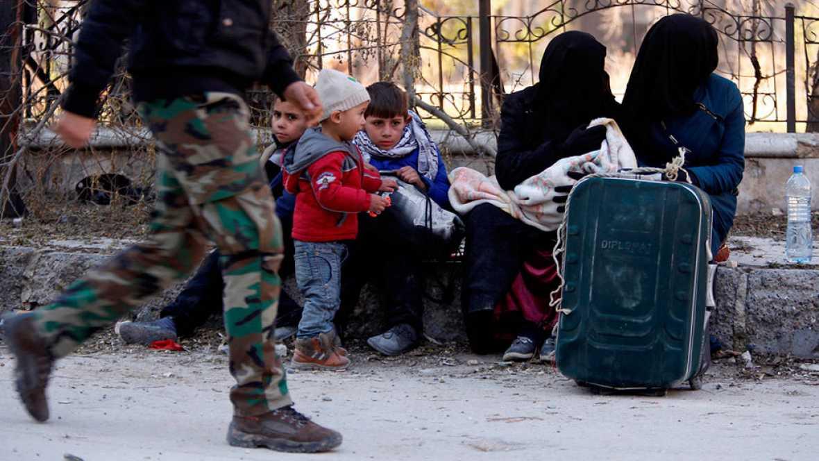 La ONU alerta de que la población siria está atrapada entre dos bandos que violan el derecho internacional