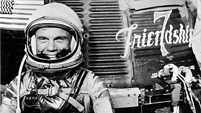 El mundo despide a una leyenda del espacio, John Glenn.