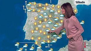 Poco nuboso y nieblas persistentes en la meseta norte y cuenca del Ebro