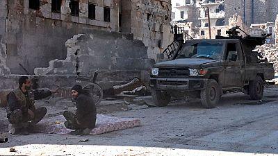 Los rebeldes han perdido las tres cuartas partes del territorio que controlaban en Aleppo