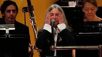 Patti Smith protagoniza la anécdota de la jornada en la entrega de los Nobel