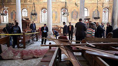 Un atentado contra la Catedral Copta en El Cairo deja al menos 25 muertos