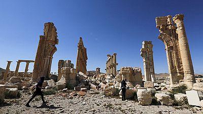 Fuerzas leales a Damasco tratan de expulsar al Estado Islámico de Palmira