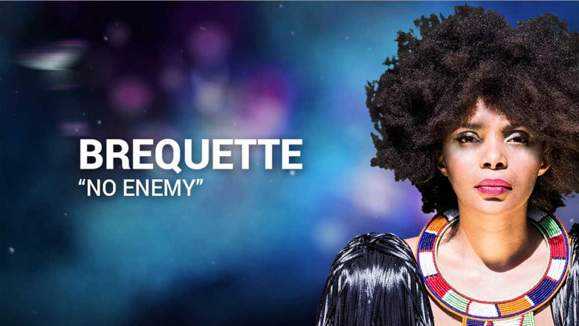 """Eurovisión 2017 - Brequette canta """"No Emeny"""""""