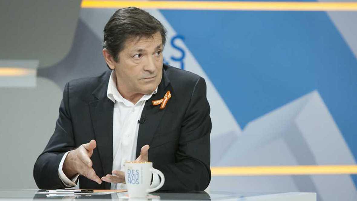 Los desayunos de TVE - Juan Carlos Girauta, portavoz de Ciudadanos en el Congreso y Javier Fernández, presidente de Asturias - ver ahora ahora