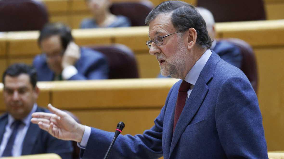"""Rajoy recomienda a Puigdemont que """"huya de los extremistas"""""""