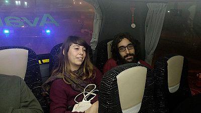 En libertad los cinco detenidos de la CUP que quemaron fotos del rey en la Diada