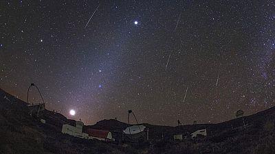 El asteroide Faetón nos regala la lluvia de estrellas de las Gemínidas