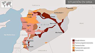 La guerra civil en Siria dura ya más de cinco años y deja cientos de miles de muertes
