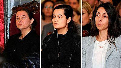 El fiscal del caso de Isabel Carrasco pide que se incremente dos años la condena a Raquel Gago