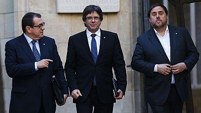 Los independentistas catalanes acusan al Gobierno de hacer una utilización burda de los tribunales
