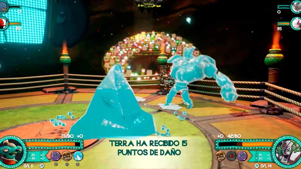 'DrawFighters': dibuja a tu luchador y combate en peleas con estilo mexicano
