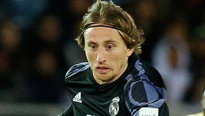 """Luka Modric, elegido mejor jugador del partido contra el América, ha asegurado que no le gusta el videoarbitraje: """"Para mí no es fútbol""""."""