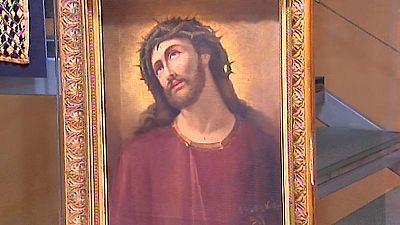 Una galería de Zaragoza asegura poseer el original del Ecce Homo de Borja