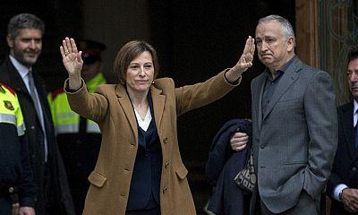 Comparecencia íntegra de la presidenta del Parlament, Carme Forcadell, tras declarar como investigada ante el TSJC