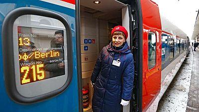 Viajar de Moscú a Berlín tarda ahora cinco horas menos