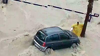 El temporal de lluvias en el Mediterráneo se ha cobrado una víctima mortal