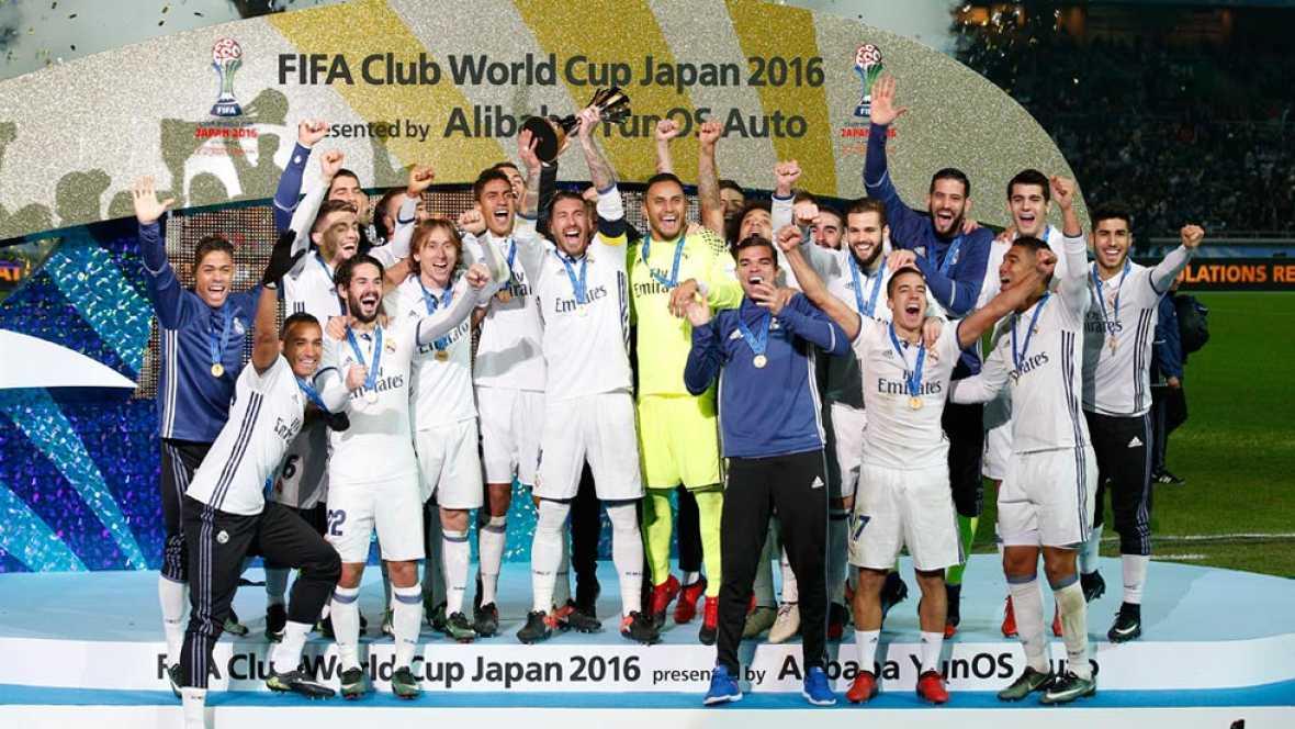 El Real Madrid levanta su segundo Mundialito