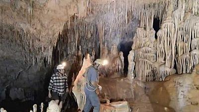Al filo de lo imposible - Espeleología - Vallgornera: piedra, agua y tiempo (1) - ver ahora