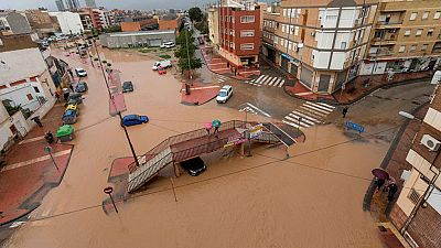 Alerta naranja en cinco provincias del Mediterráneo por las lluvias