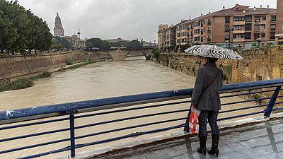 Más de 350 personas rescatadas en la Región de Murcia por las intensas lluvias