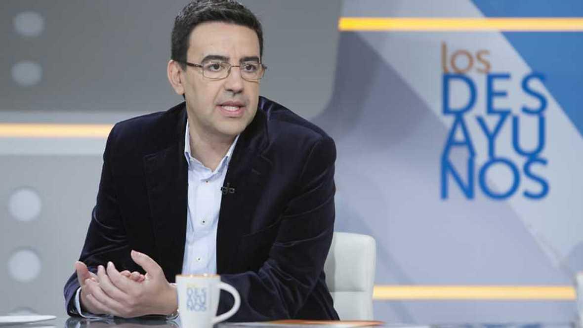 Los desayunos de TVE - Mario Jiménez, portavoz parlamentario PSOE-A y de la gestora socialista; y Antonio López-Istúriz, secretario general del Partido Popular Europeo - ver ahora