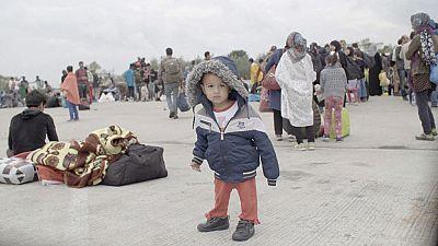 Nacido en Siria es un documental dirigido por Hernán Zin que retrata el drama de los refugiados a través de los ojos de siete niños.