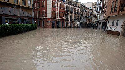 Muere un hombre en Los Alcázares (Murcia), arrastrado por las lluvias